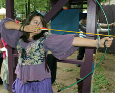 Archery at the Faire