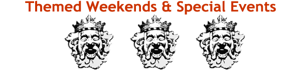 Themed Weekends and Special Events