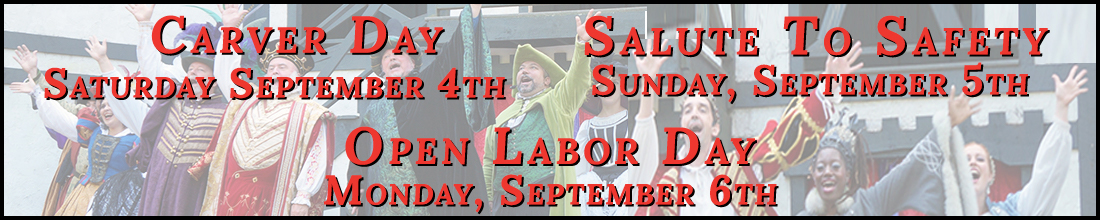Labor Day 2021 Opening Weekend